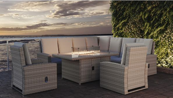 Sansibar XL mit Feuertisch