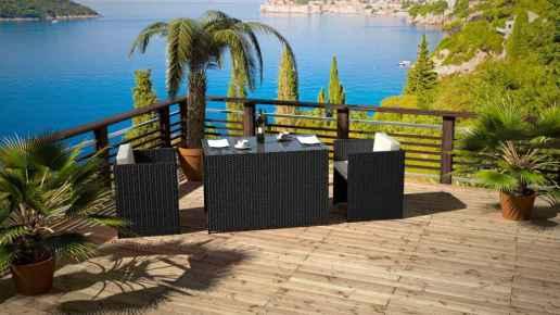 Balkon Möbel Set - Abelinda