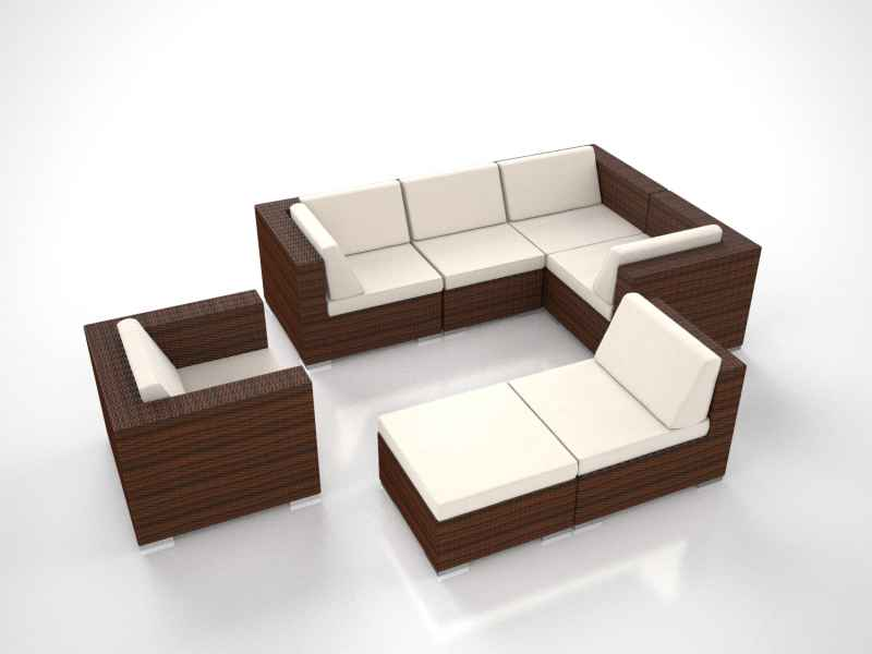artelia austria lounge garten eckcouch aus polyrattan im angebot kaufen. Black Bedroom Furniture Sets. Home Design Ideas