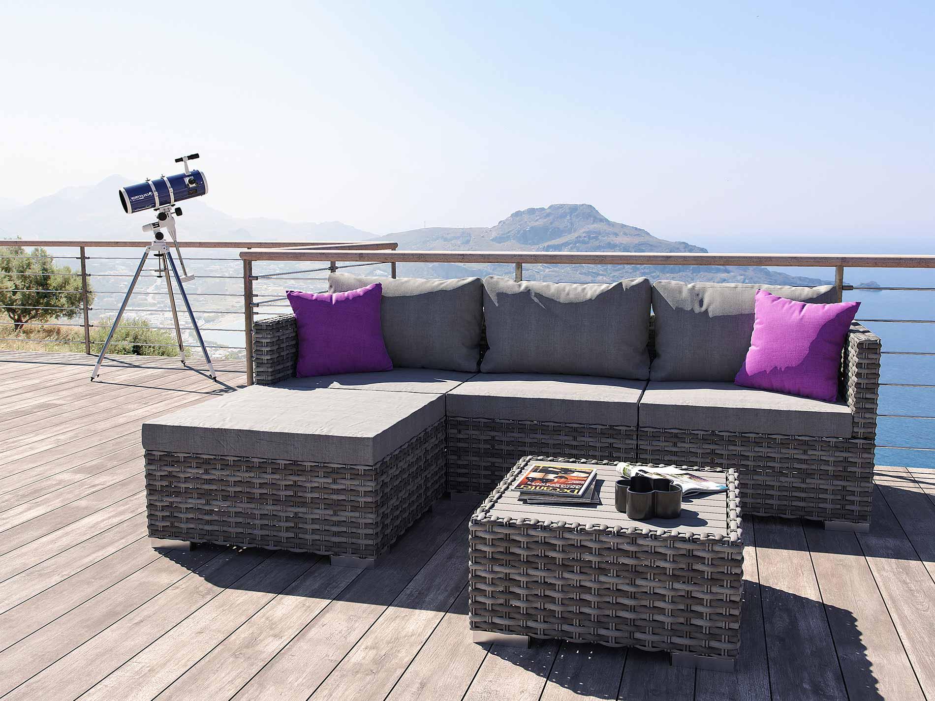 ARTELIA AUSTRIA | Gartenmöbel Set im Lounge Design günstig im ...