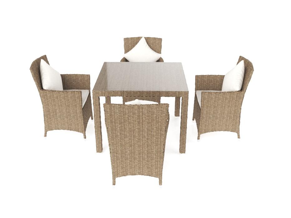 rattan essgruppe cool rattan set amazonde poly rattan essgruppe rattan set mit glastisch. Black Bedroom Furniture Sets. Home Design Ideas
