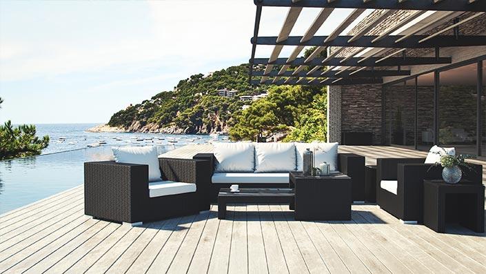 Matelia - Gartenmöbel Lounge