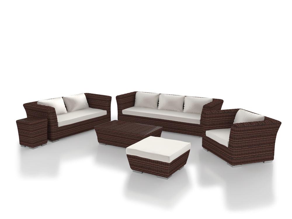 ARTELIA AUSTRIA | Terrassenmöbel Sitzgruppe Rigantona aus Polyrattan