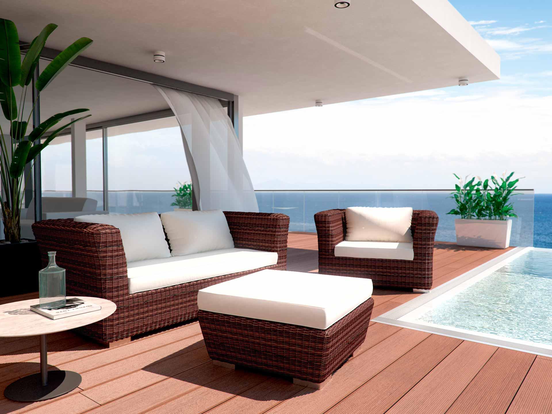 Terrassenmöbel artelia austria terrassenmöbel sitzgruppe rigantona s aus polyrattan