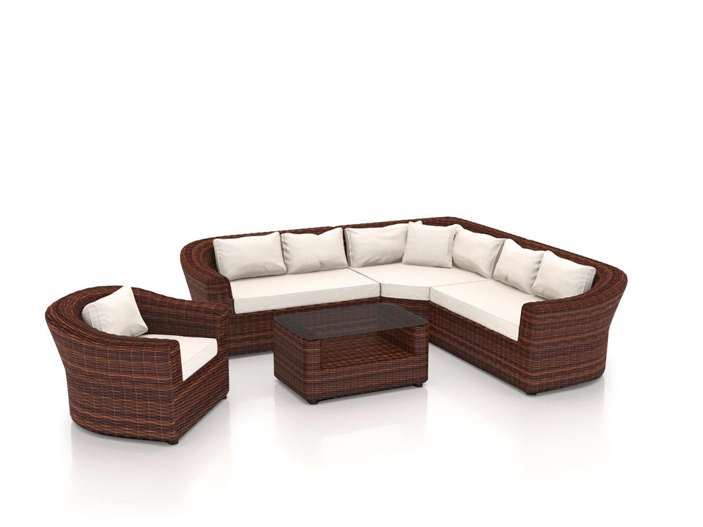 artelia austria jetzt die polyrattan ecklounge rondino kaufen. Black Bedroom Furniture Sets. Home Design Ideas