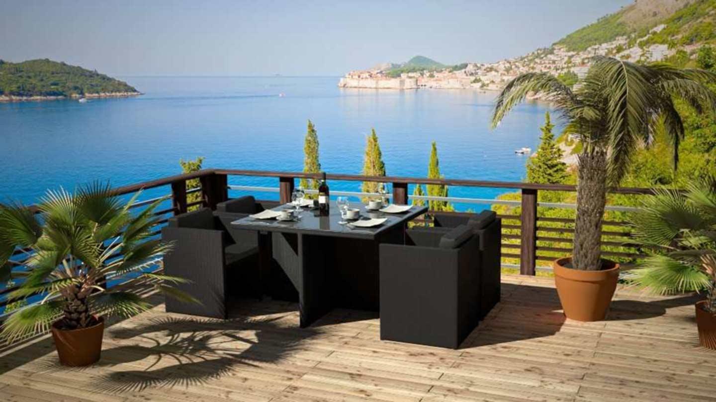 artelia austria texalia gartenm bel esstisch set aus textilene. Black Bedroom Furniture Sets. Home Design Ideas